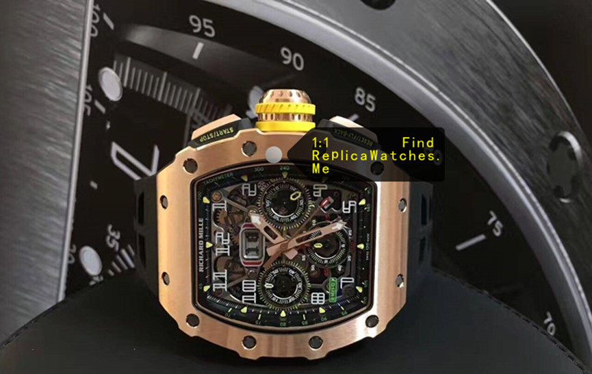 Replica Richard Mille RM 11-03RG All Full Polished Bronze Titanium
