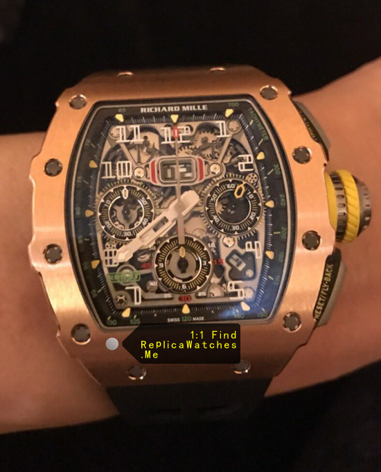 Richard Mille RM 11-03RG Polished Bronze Titanium With Side Gray Titanium