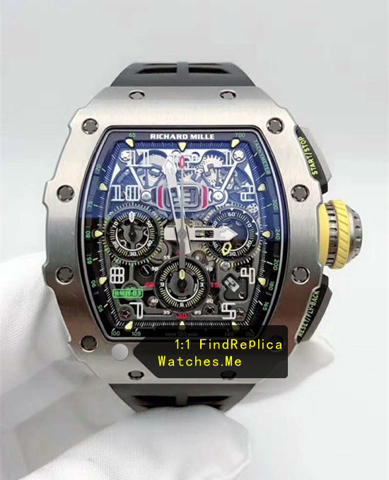 Richard Mille RM 11-03RG Polished Silver Titanium