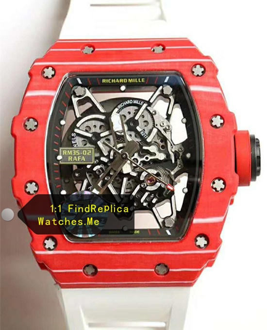 Richard Mille RM 35-02 2019 All Red Bezel Watch