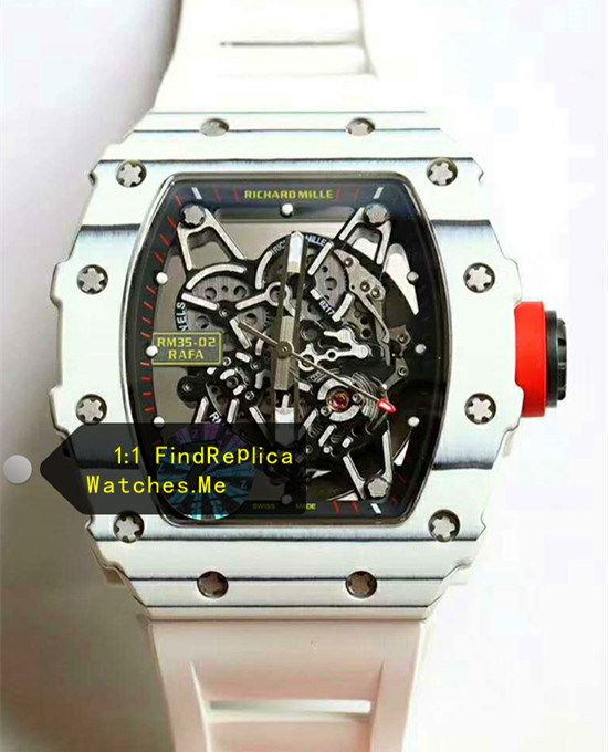 Richard Mille RM 35-02 2019 White Bezel Watch