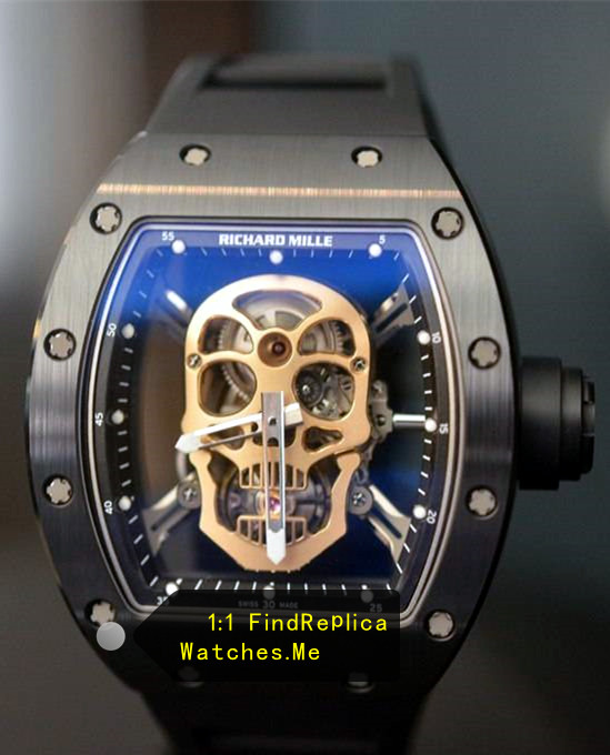 Richard Mille RM 52-01 Black Ceramic With Steel