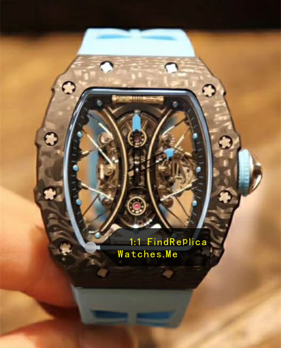Richard Mille RM 53-01 Snowflake Point Black Fiber