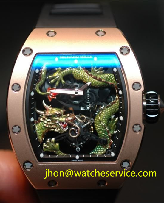 Richard Mille RM 57-03 Green Dragon Gold