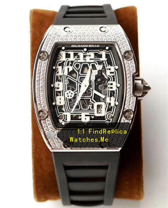 Richard Mille RM 67-01 Ultra-Thin White Diamond From H-maker Factory