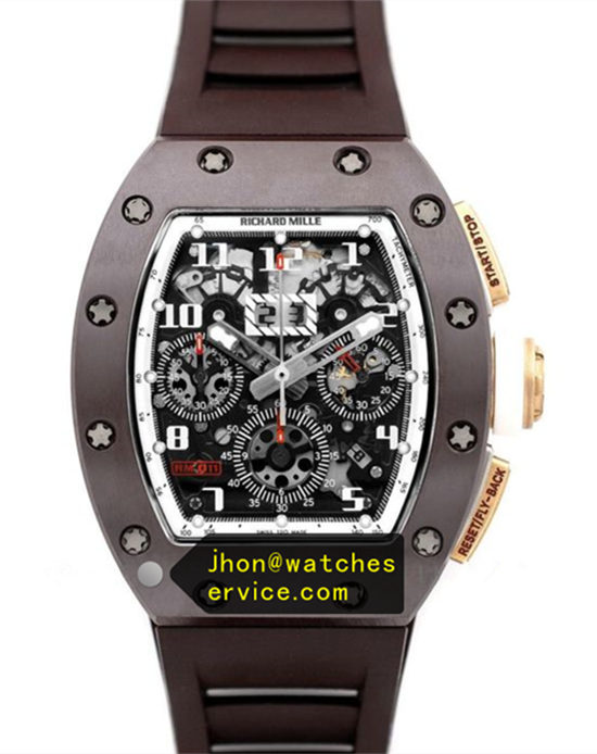 Richard Mille RM 011 All Brown Ceramic