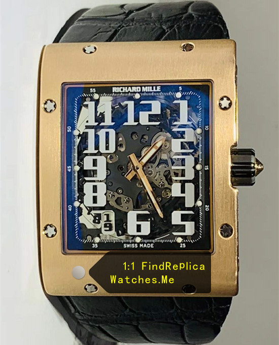 Richard Mille RM 016 18K-Gold Rectangle