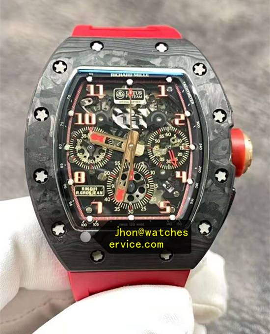 Super KV Richard Mille RM 011 LOTUS F1 All Carbon Fiber