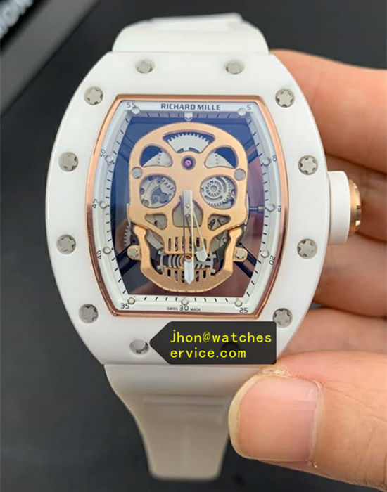 White Ceramics Richard Mille RM 52-01 Supper Hollow