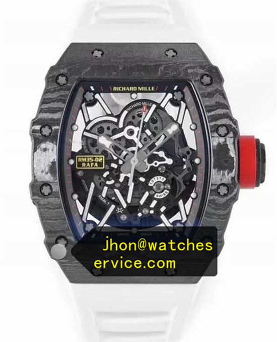 White Strap Richard Mille RM 35-02 Original Carbon Fiber