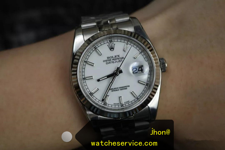Replica Datejust 116234 36mm White Face Watch