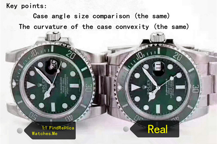 Real vs Fake Rolex Submariner : Detailed Comparison Of Pictures