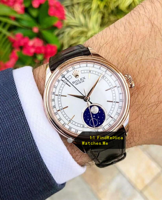 Replica Rolex Cellini m50535-0002 on the Wrist