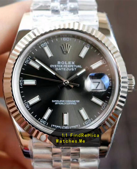 Rolex Datejust m126334-0018 41MM Black Face