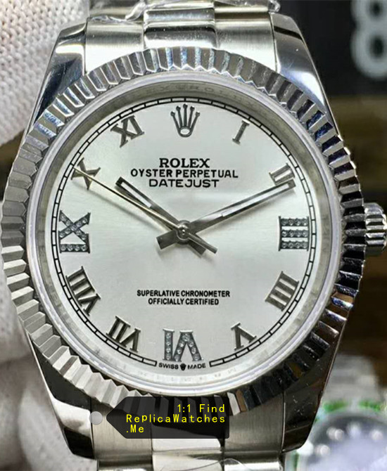 Rolex Datejust 116234-63600 36mm White Face