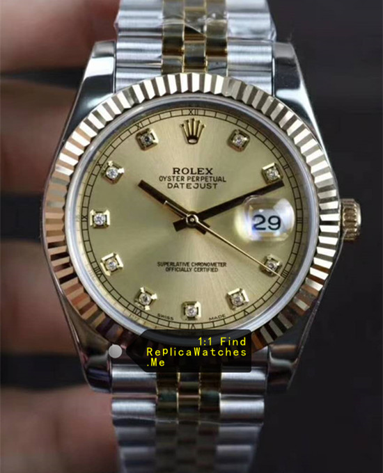 Rolex Datejust 126333 41MM 18k-Gold Face
