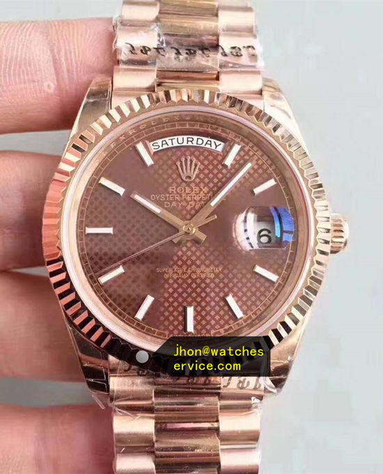 AR 40MM 18k-Rose-Gold Rolex Day-Date m228235-0006