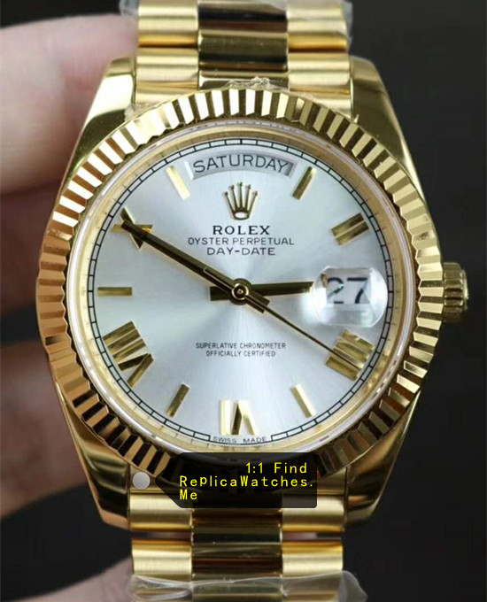 Rolex Daydate 228238-83418 40MM White Face
