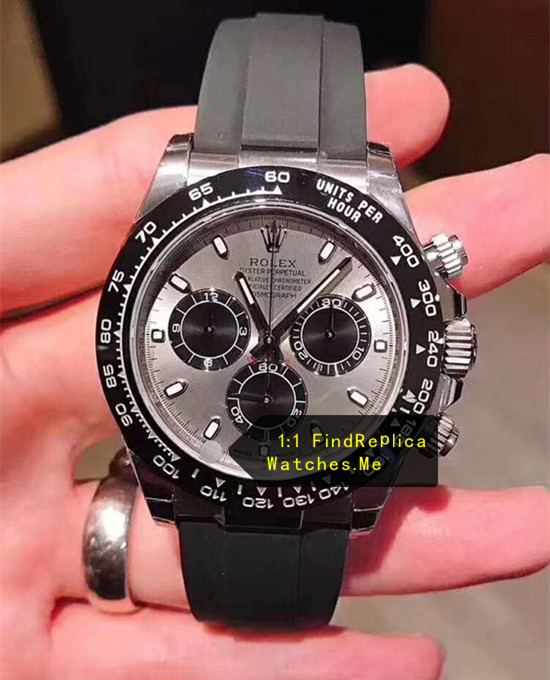 Rolex Daytona M116519ln-0024 Gray Face With Steel Body