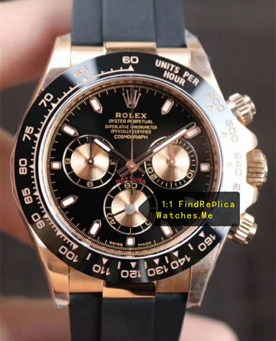 Rolex Daytona M116515ln-0012 18ct-Rose-gold And Chronograph