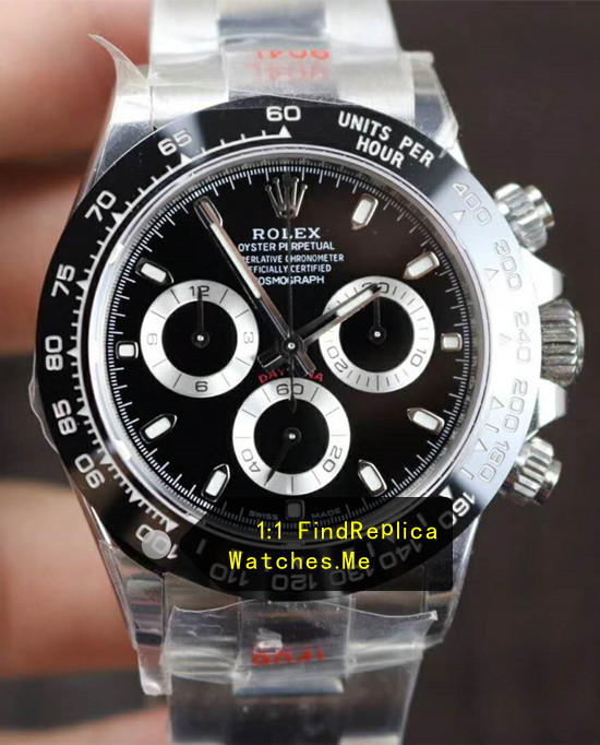 Rolex Daytona 116500LN-78590 Black Face Black Ceramic