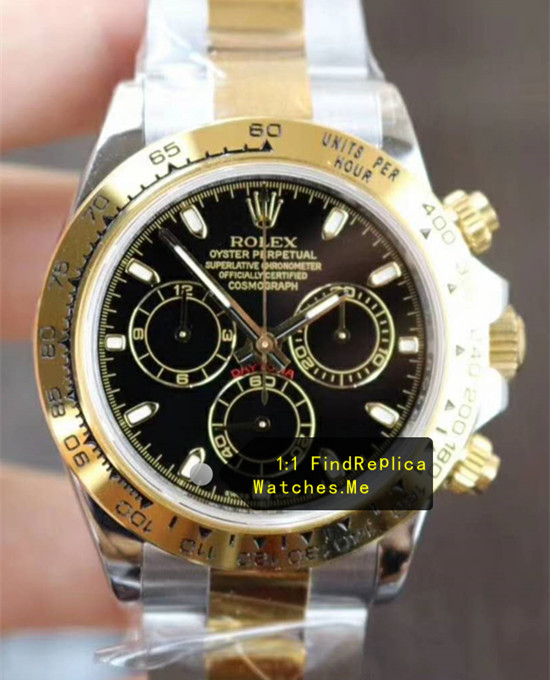 Rolex Daytona 116503 18ct-Gold Bezel With Black Face