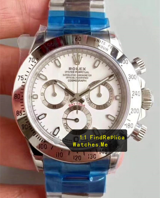 Rolex Daytona 116520-78590 White Face Stainless Steel