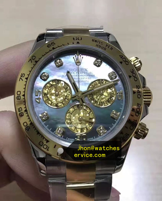 Super AR Lake Blue Frozen Rolex Daytona m116503