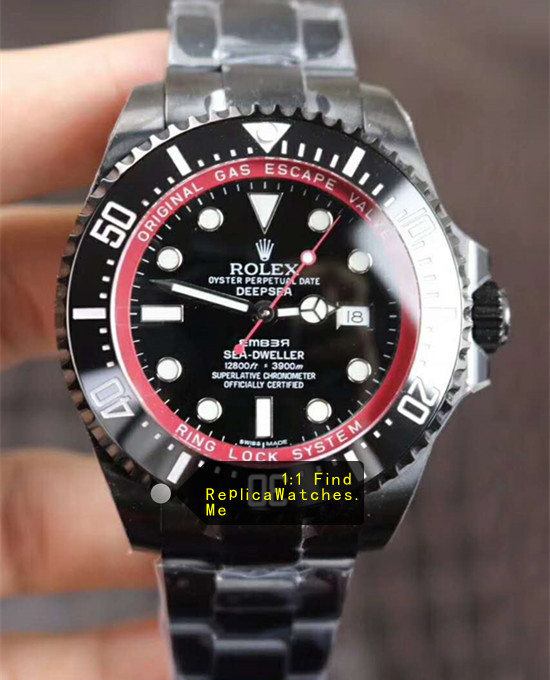 Replica Rolex Sea Dweller 116660 Black Special Edition HD-image