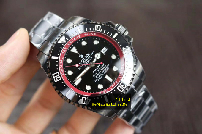 Replica Rolex Sea Dweller 116660 Black Special Edition Deepsea