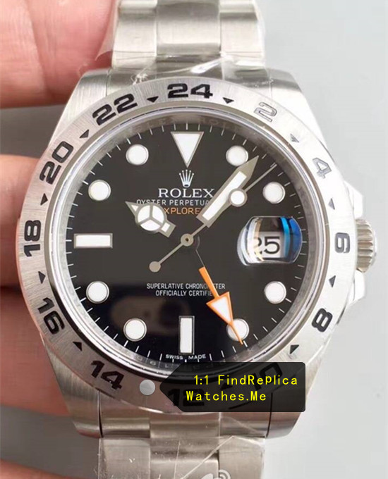Rolex Explorer-II 216570-77210 Black Face