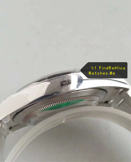 Fake Rolex Explorer-II 216570-77210 904L stainless steel Side