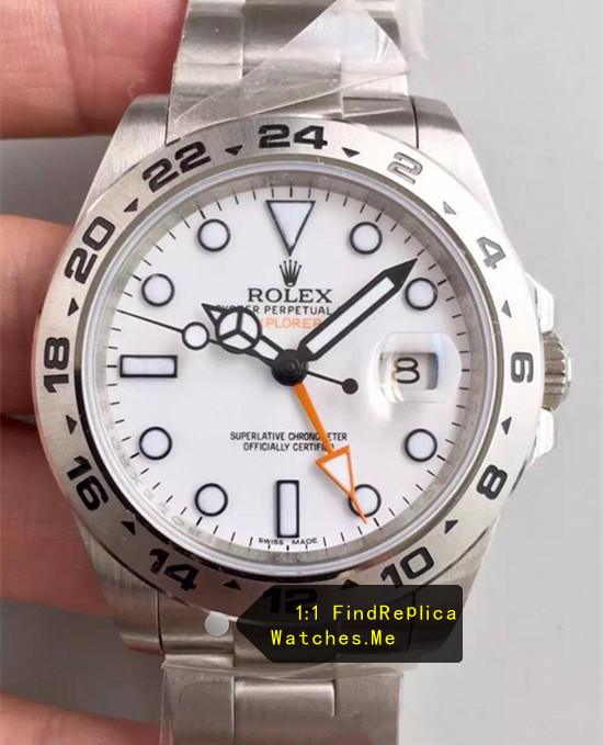 Rolex Explorer-II 216570-77210 White Face