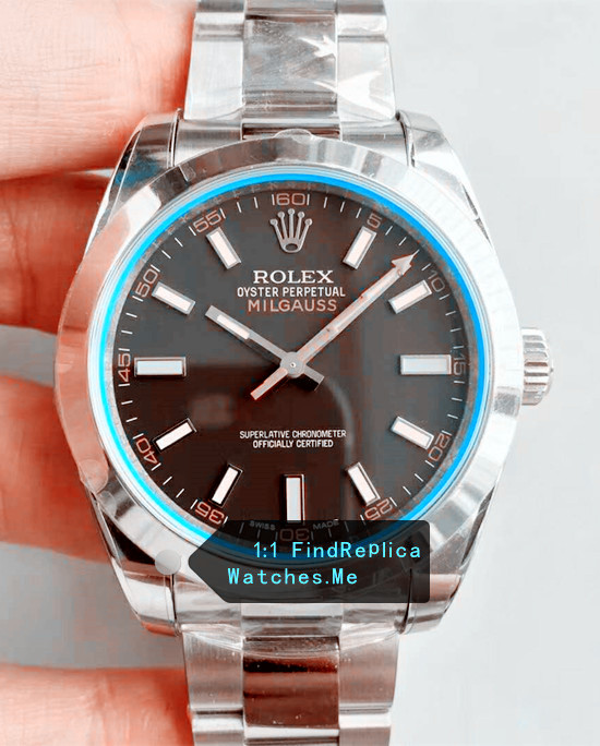 Rolex Milgauss 116400 Blue Glass Watch From N Factory