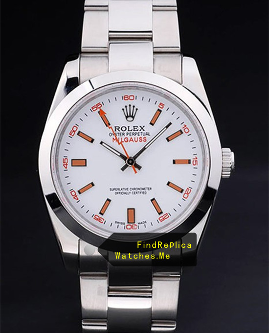 Rolex Milgauss 116400-72400 White Face A grade Watch