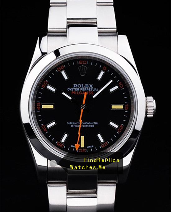 Rolex Milgauss 116400 Black Face A grade Watch