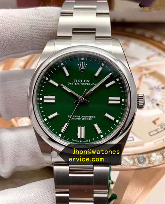 2020 41MM Green Dial Rolex Oyster m124300-0005