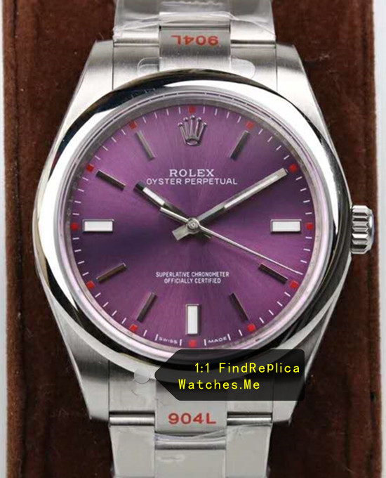 Rolex Oyster 114200 34MM Grape Red N-Factory
