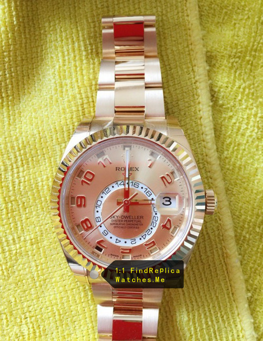 Rolex Sky Dweller 326938-72418 All 18ct Gold