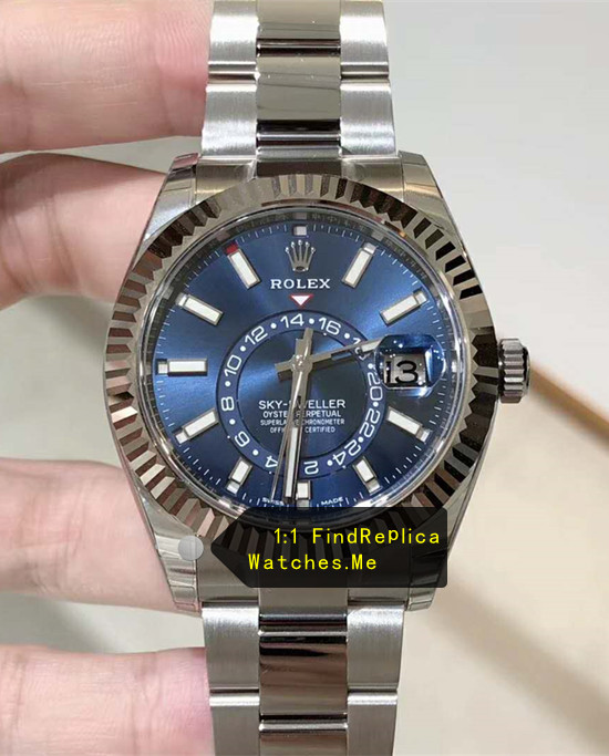 Latest Blue Rolex Sky-Dweller-m326934-0003 From AR-factory
