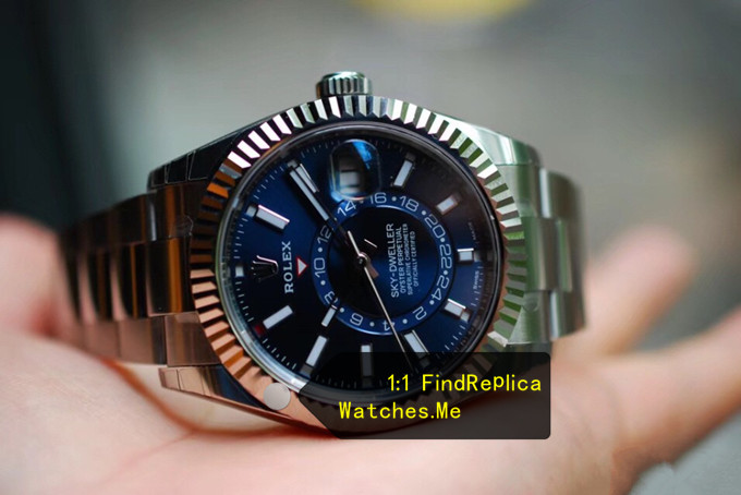 Replica Rolex Sky-Dweller-m326934-0003 Blue Face