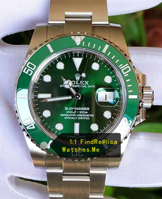2019 AR Factory Green Rolex Submariner 116610LV Watch