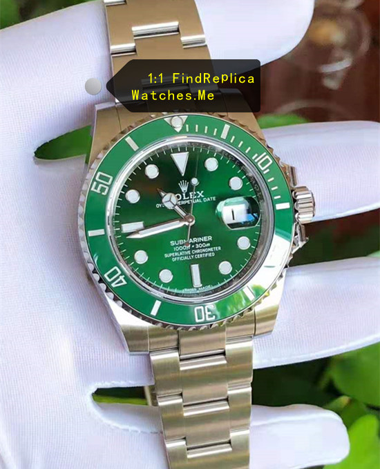 2019 AR Factory Fake Green Rolex Submariner 116610LV Watch