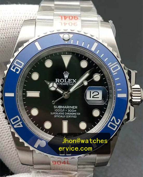 2020 41MM Rolex Submariner m126619lb Blue