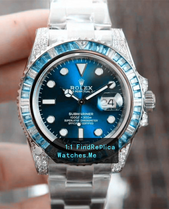 Limited Rolex Submariner Sapphire Blue 40MM N Factory