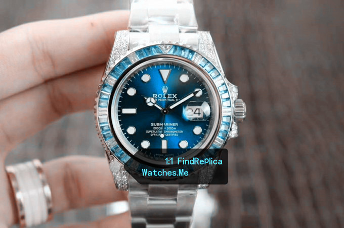 Limited Replica Rolex Submariner Sapphire Blue 40MM