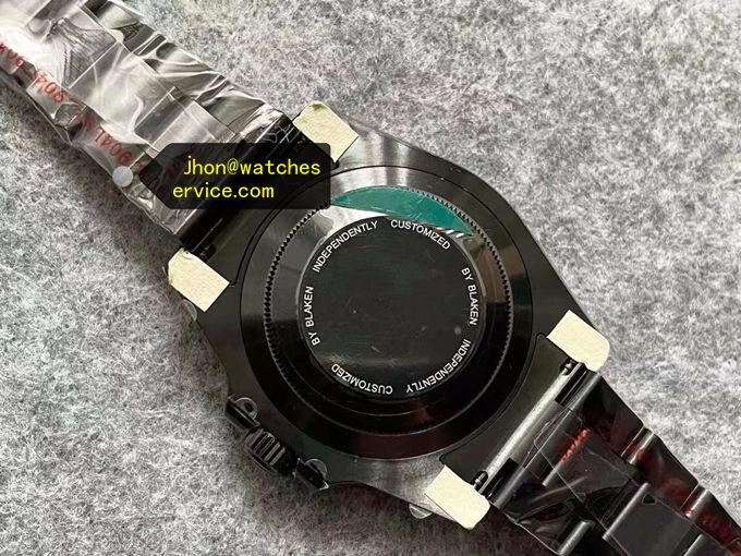 Poker Green Dial Blaken Rolex Submariner Replica Watch Find Replica Watches