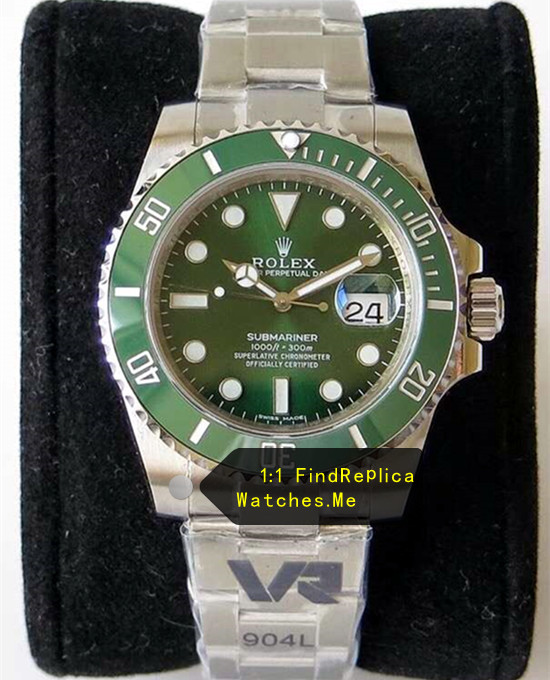 Rolex Submariner 116610LV-97200 Green Watch