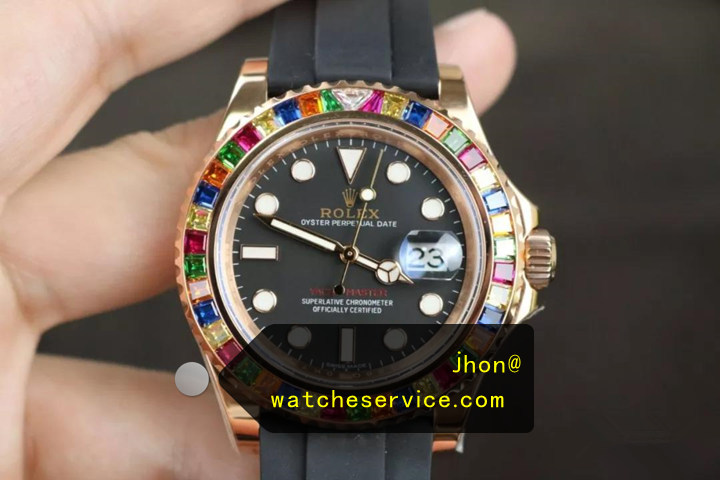 N Factory : Fake Rolex Yachtmaster 116695SATS Jelly Beans Watch Reviews
