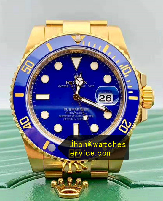 2019 AR Factory Rolex Submariner Gold Blue